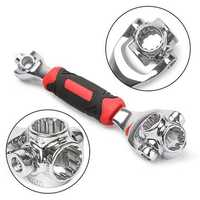 Raitool 48 In 1 Socket Wrench Multifunction Universal Wrench 360 Degree Revolving Spanner