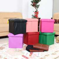 Multifunctional Folding Storage Chair Box Shoes Toys Storage Chair Home Furniture