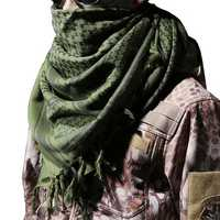 C.Q.B Tactical Scarf Windproof Tactical Mark Camping Cycling Hiking Scarf For Male Women Head Neck