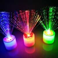 LED Colorful Electronic Candle Night Light Chrismas Holiday Bedroom Living Room Decoration