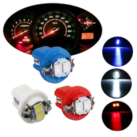 1PCS T5 B8.5D 5050 LED Car Dashboard Lights Dash Panel Gauge Wedge Side Bulb 12V