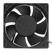 120mm 4Pin DC 12V 6000RPM Two Ball Bearing CPU PC Cooler Cooling Fan Heat Dissipation