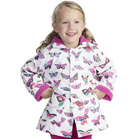 Children's Polyester Raincoat Wear-Resistant Easy Cleaning Kids Hooded Raincoat