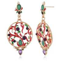 Bohemian Hallow Ear Drop Alloy Earring