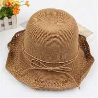 Women Summer Breathable Sunscreen Straw Hat