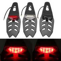 12V Motorcycle Fender LED Brake Stop Rear Tail Turn Light Enduro Dirt Bike Lamp