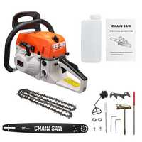Gasoline Chainsaw Handed Power Saw Woodworking Wood Cutting Sharpening Grinding Machine 2200W 20Inch