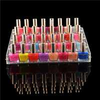 Acrylic Nail Polish Organizer Display Large Makeup Stand Rack 4 Tiers