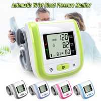 Multifunction Digital Blood Pressure Monitor Wrist Heart