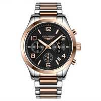 Luxury GUANQIN Brand Men Wrist Watch Fashion Business Style 3ATM Waterproof Quartz Watch GS18001