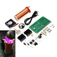 DIY DC 15-24V Tesla Coil Module Kit With Xenon Lamp And Ball