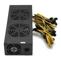 3600W Miner Mining Power Supply Mining Rig Machine with Four Fans For A6 A7 s5 s7 B3 E9 L3+ R4 Miner