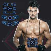 KALOAD Rechargeable EMS Abdominal Waist Arm Leg Training Sports Fitness Muscle Trainer Stimulator Tools