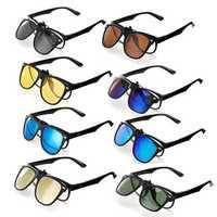 TR90 UV400 Polarized Sunglasses Lense Clips Lenses Glasses