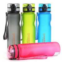 BIKIGHT Portable Plastic Leakproof Sports Water Bottle Drinking Cup Outdoor Cycling
