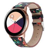 Bakeey 42mm Leather Smart Watch Band Soft Watch Strap for Samsung Galaxy Watch Active