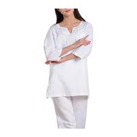Women Fitness Yoga Suit Cotton Linen Embroidery Yoga Clothing Set Meditation Sportswear