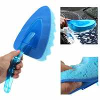 EVA ABS Cleaning Tool Car Truck Vehicle Wave Wash Sponge Triangle Brush