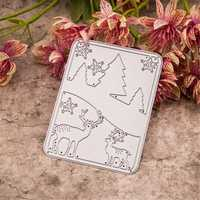 DIY Hollow Out Cutting Die Stencil Paper Scrapbooking Album Craft Decoration