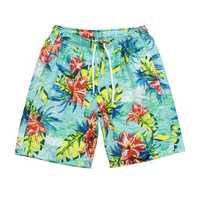 Printing Quickly Dry Drawstring Beach Board Shorts