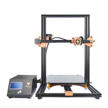 TEVO® Tornado DIY 3D Printer Kit 300*300*400mm Large Printing Size 1.75mm 0.4mm Nozzle Support Off line Print