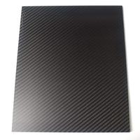 250X420mm 3K Carbon Fiber Board Carbon Fiber Plate Twill Weave Matte Panel Sheet 0.5-5mm Thickness
