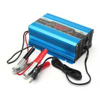 12V 20A 200ah LED Display Engine Three Phase Digital Smart Battery Charger