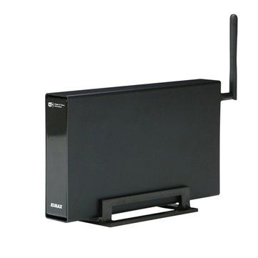Blueendless BS U35WF Wireless Storage Router With NAS Function Hard Drive Enclosure Box Black