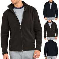 Men's Winter Slim Fleece Long Sleeve Casual Coats