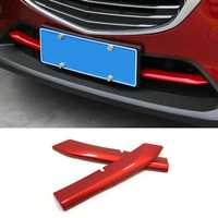 Car ABS Front Lower Grille Cover Trim Molding for Mazda CX5 2017-2018 KF 2nd Gen