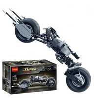 Decool 7115 338pcs Car Motorbike Model Building Blocks Toys Sets DIY Toys With Original Packing