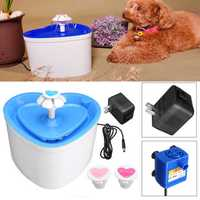 2L Pet Bowl Dog PET Drinking Water Fountain Bowl Drink Dish