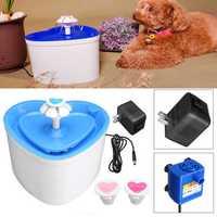 2L Pet Bowl Dog PET Drinking Water Fountain Bowl Drink Dish