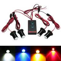 Universal Remote Control Car 4 LED Strobe Flashing Hazard Emergency Warning Light