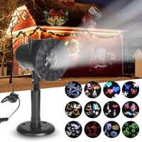 Outdoor Laser LED Projector Spotlight Lantern Waterproof IP65 Christmas light US/AU/UK/EU Plug