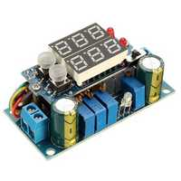 MPPT Solar Panel Controller 5A DC-DC Step Down CC/CV Charging Module Display LED