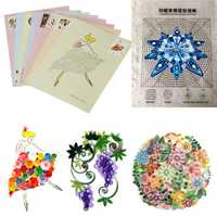 18PCS DIY Release Drawing Locating Paper Quilling Tool Craft Paper Art Collection Set