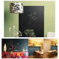 Chalk Board Stickers Removable Vinyl Draw Decor Mural Decals Art Blackboard Wall Sticker For Kids DIY