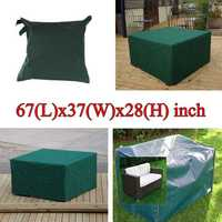 170x94x71cm Garden Outdoor Furniture Waterproof Breathable Dust Cover Table Shelter