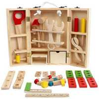 Kids Baby Educational Play Toys Sets Wooden Building Block Toddler Learning Toy