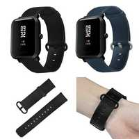 Bakeey 20mm Genuine Leather Strap Watch Band for Xiaomi Amazfit Bip Youth Smart Watch
