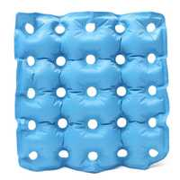 Air Self Inflatable Waffle PVC Cushion Seat Pad Hemorrhoids