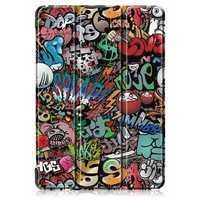 Tri-Fold Printing Tablet Case Cover for Lenovo Tab E10 Tablet - Doodle