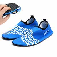 Men/Women Blue Toggle Surf Aqua Beach Water Socks Swimming Water Shoes