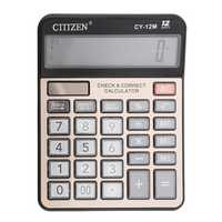 GTTTZEN CY-12M Dual Power Calculator Electronic Calculator 12 Digits Computer Keys Computer Office