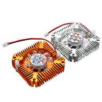 DC 12V LED light Cooling Cooler Heat Sink With Fan For 5W/10W High Power