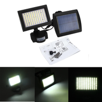 Solar Power 99 LED PIR Motion Sensor Flood Wall Light Waterproof Outdoor Garden Security Lamp