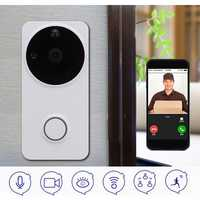 Wireless WiFi Ring Doorbell Phone Remote Video 2-Way Talk Audio Home Security
