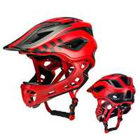 ROCKBROS TT-32 2 In 1 Full Cover Cycling Helmet For Kids Bike Detachable Bicycle Cycling Skateboarding Scooter