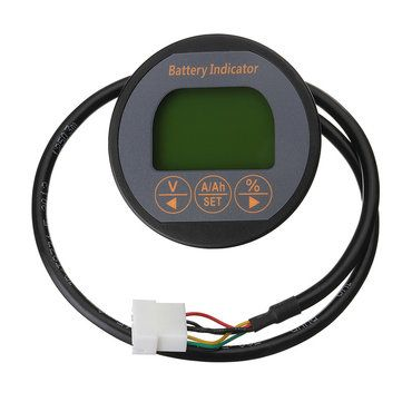 TR16 50A/100A/350A 80V Battery Current Voltmeter LCD Display Digital Tester Monitor
